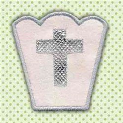 Easter Bowl embroidery design