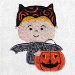 Bat Costume embroidery design