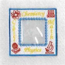 Grad Photo Cube embroidery design