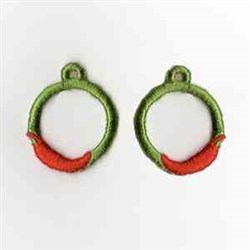 FSL Circle Earrings embroidery design