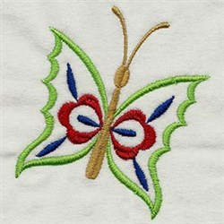 Butterfly Flutter embroidery design