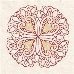 Persian Circle embroidery design