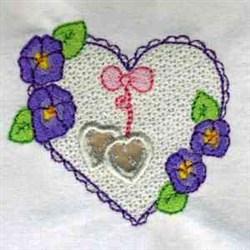 Cutwork Heart embroidery design