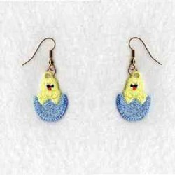 FSL Easter Earrings embroidery design