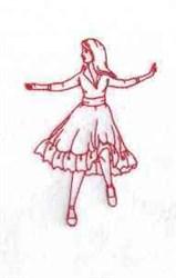 RW Dancer embroidery design