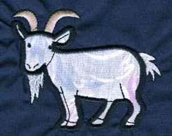 Billy Goat embroidery design