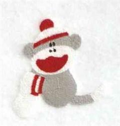 Sock Monkey embroidery design