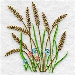 Tall Grass embroidery design
