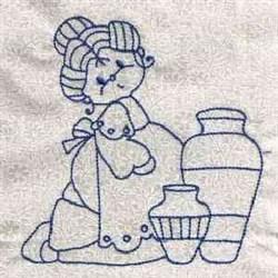 RW Granny embroidery design