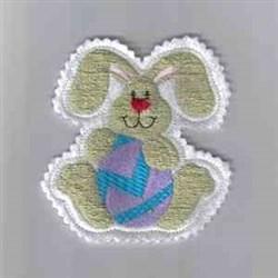 Bunny Ornament embroidery design