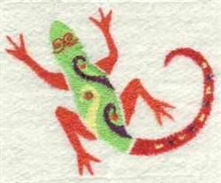 Deco Reptile embroidery design