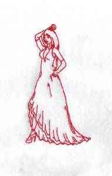 RW Spamish Dancer embroidery design