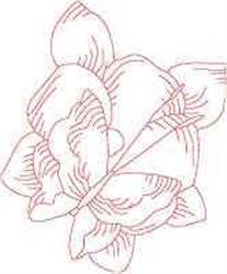 Butterfly Flowers embroidery design