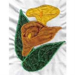 Calla Lily Applique embroidery design