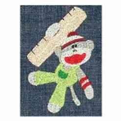 Cute Sock Monkey embroidery design
