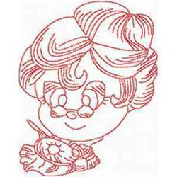 RW Sewing Granny embroidery design