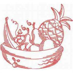 RW Fruit Basket embroidery design