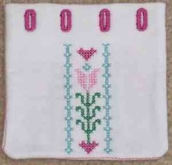 Cross Stitch Bag embroidery design