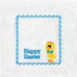 Easter Bag Topper embroidery design