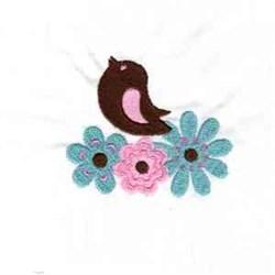 Doodle Bird embroidery design