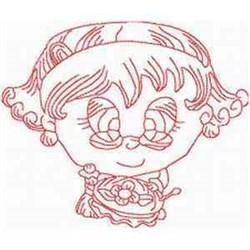 Needlework Granny embroidery design