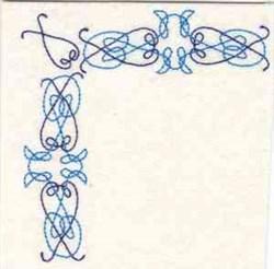 Celtic Corner embroidery design