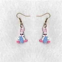 FSL Rabbit Earrings embroidery design