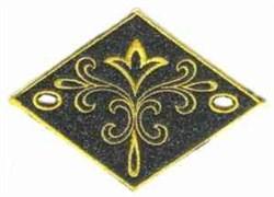 Diamond Adornment embroidery design
