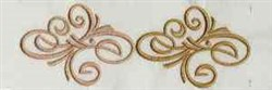 Endless Elegant Swirls embroidery design