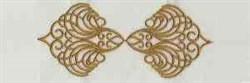 Linen Border embroidery design