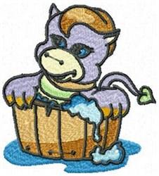 Bath Tub Dragon embroidery design