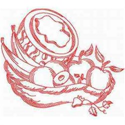 RW Fruit embroidery design