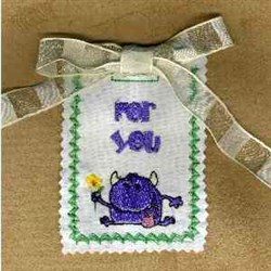 Gift Card For You embroidery design