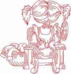 RW Seamstress embroidery design