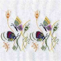 Endless Butterfly Border embroidery design