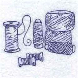Redwork Thread embroidery design