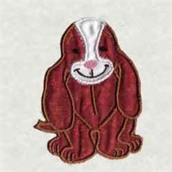 Applique Dog embroidery design