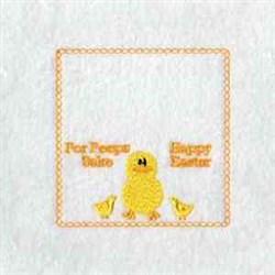 For Peeps Sake embroidery design