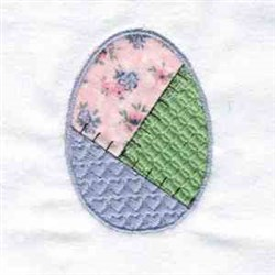 Applique Egg embroidery design