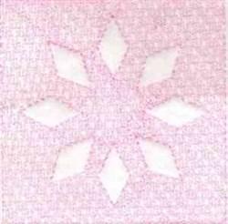 Diamond Flower embroidery design