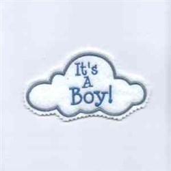 Its a Boy! embroidery design