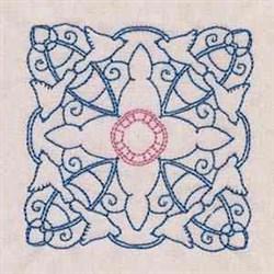Dove Square embroidery design