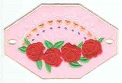 Octagon Roses embroidery design
