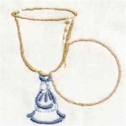 Redwork Eucharist embroidery design