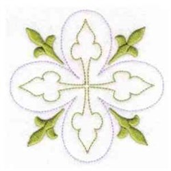 Quilt Leaves embroidery design