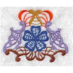 Fantasy Flower embroidery design