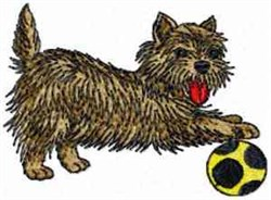 Dog Ball embroidery design