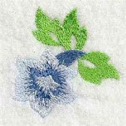 Delicate Flower embroidery design