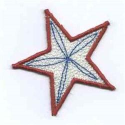 Firework Star embroidery design