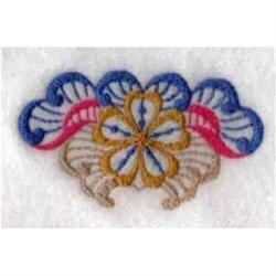 Fantasy Flower Ornament embroidery design